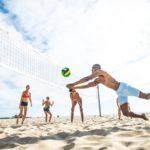 Smíšený beach volejbalový turnaj trojic
